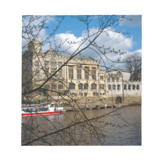 York City Guildhall river Ouse Memo Note Pad