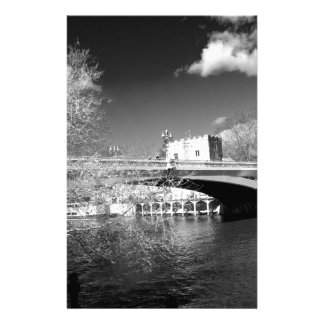 York City river landscape Personalised Stationery