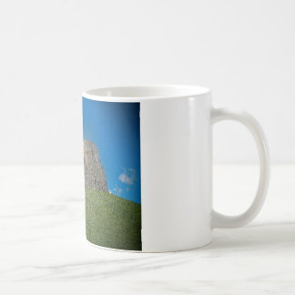 York, Cliffords tower in plastic Coffee Mug