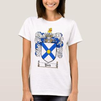 York Coat of Arms / York Family Crest T-Shirt