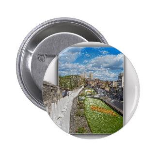 York de la pared de la ciudad pin