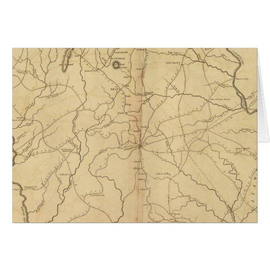 York District, South Carolina Card