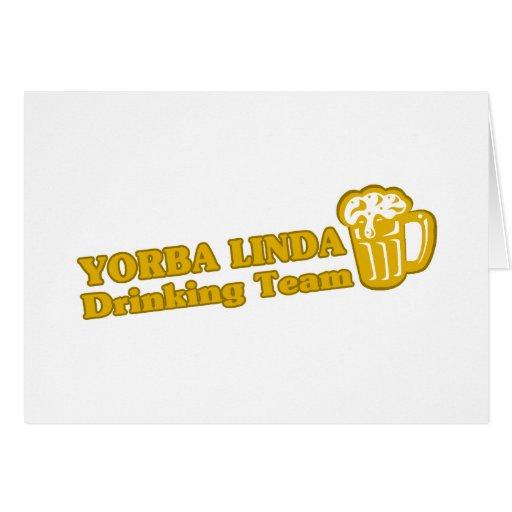 York Drinking Team tee shirts Card
