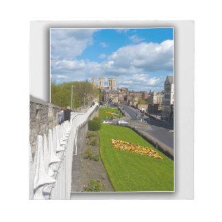 York empareda la iglesia de monasterio bloc de notas