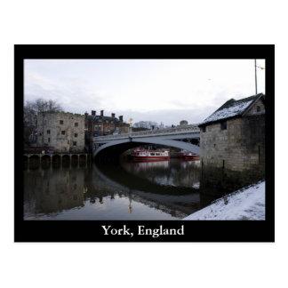 York, England Postcard