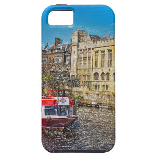 York Guildhall with river boat Case For The iPhone 5