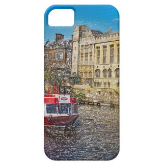 York Guildhall with river boat iPhone 5 Cases