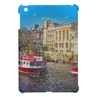 York Guildhall with river boat iPad Mini Cover