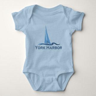 York Harbor - Maine. Baby Bodysuit
