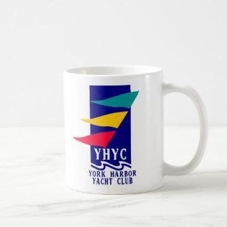 York Harbor Yacht Club Classic White Coffee Mug