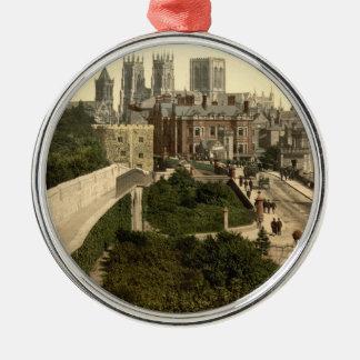 York I, Yorkshire, England Metal Ornament