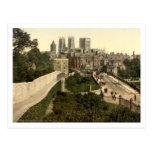 York I, Yorkshire, England Postcard