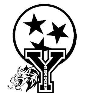 York Institute HighSchool Jamestown Tennessee Rubber Stamp