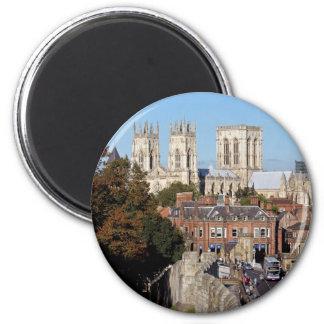 York Minster 2 Inch Round Magnet