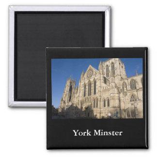 York Minster 2 Inch Square Magnet