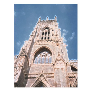 York Minster a Postcard