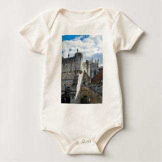 York Minster and Bootham Bar Baby Bodysuit