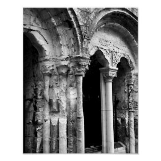 York Minster Arches Poster
