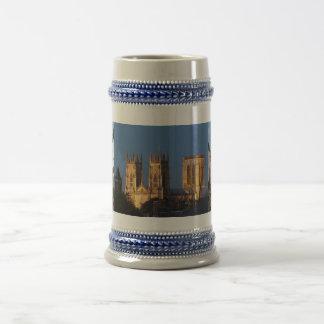 York Minster Beer Stein