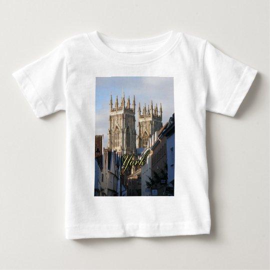 York Minster England Baby T-Shirt
