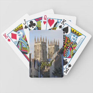 York Minster England Bicycle Playing Cards