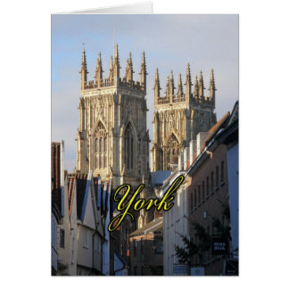 York Minster England Card