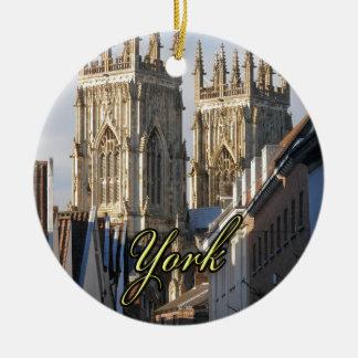 York Minster England Christmas Ornaments