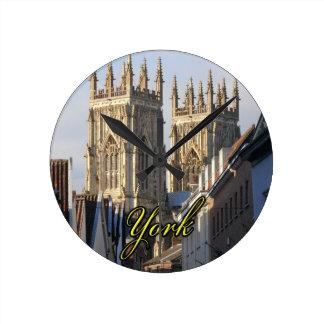 York Minster England Clock