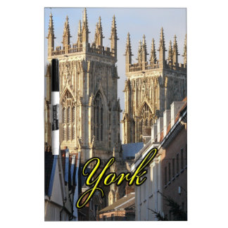 York Minster England Dry-Erase Whiteboard