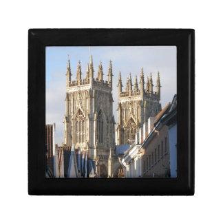 York Minster England Jewelry Box