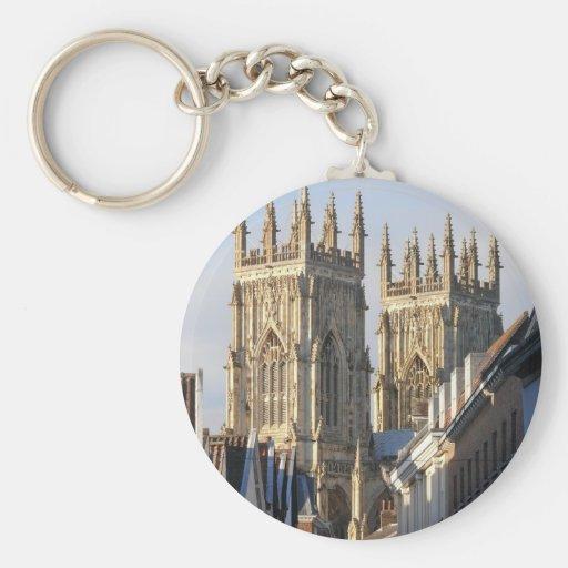 York Minster England Keychain