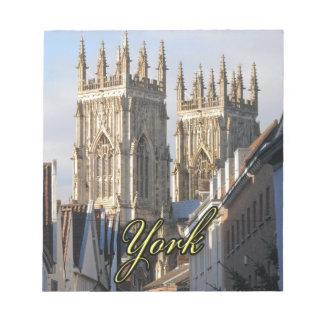 York Minster England Scratch Pad