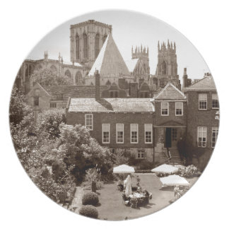 York Minster from York City Walls Plate