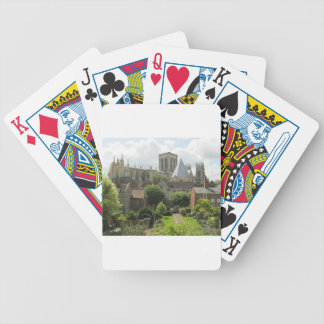 York Minster in the Morning Bicycle Playing Cards