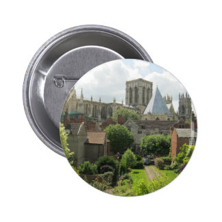 York Minster in the Morning Button