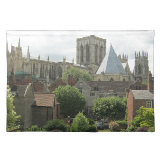 York Minster in the Morning Cloth Placemat