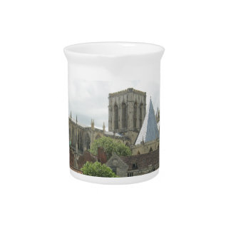 York Minster in the Morning Drink Pitchers