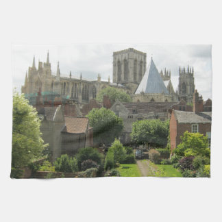 York Minster in the Morning Hand Towels
