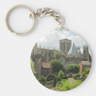 York Minster in the Morning Keychain