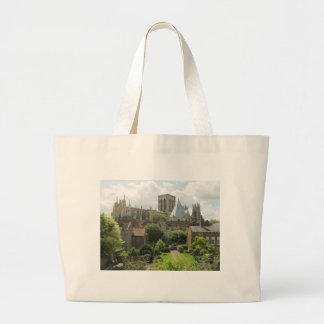 York Minster in the Morning Large Tote Bag