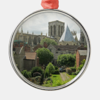 York Minster in the Morning Metal Ornament