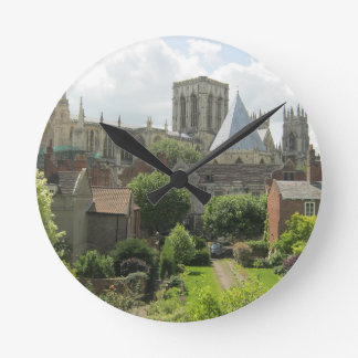 York Minster in the Morning Round Clock