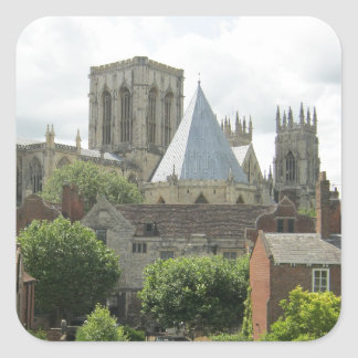 York Minster in the Morning Square Sticker