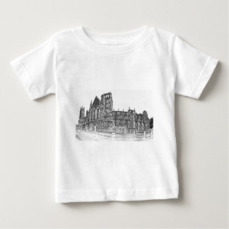 York Minster in the wide Baby T-Shirt