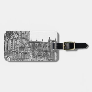 York Minster in the wide Luggage Tags