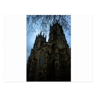 York minster postcard