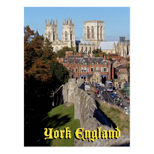 York Minster Postcard