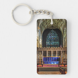 York Minster Quire Keychain