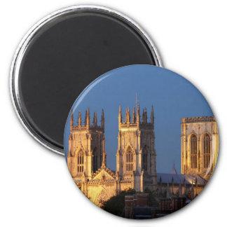 York Minster Refrigerator Magnets
