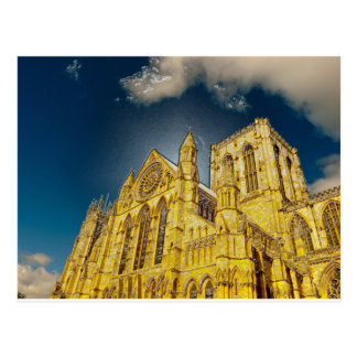 York Minster special effect Postcard